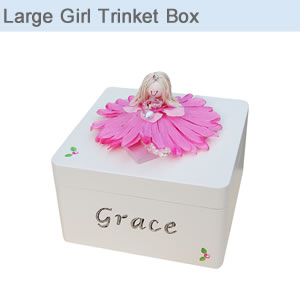 Large Girl Trinket Box