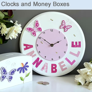 Clocks and Money Boxes