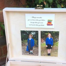 School Keepsake Box