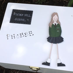 Bespoke School Keepsake Box