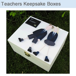 Teachers Keepsake Boxes