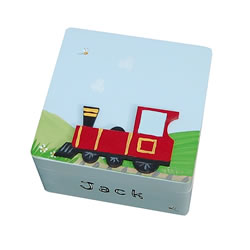 Page Boy Train Trinket Box