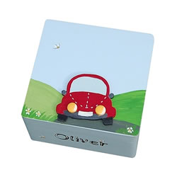 Page Boy Car Trinket Box