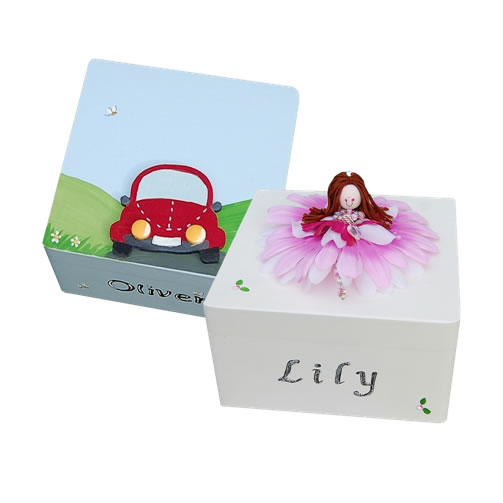Why not pop a little surprise present inside the box too! Boys will ...