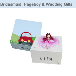 Bridesmaid, Page Boy and Wedding Gifts