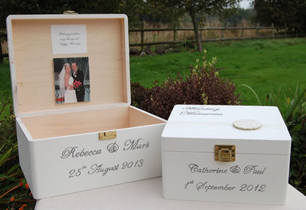 Toril Design: Hand-painted personalised baby keepsake box made of ...