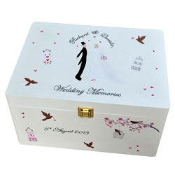 Tailor Made Wedding Keepsake Box