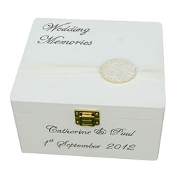 Medium Wedding Keepsake Box
